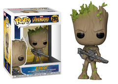 26904 - Funko Pop! Marvel Infinity War - Groot with Blaster Pop! Vinyl