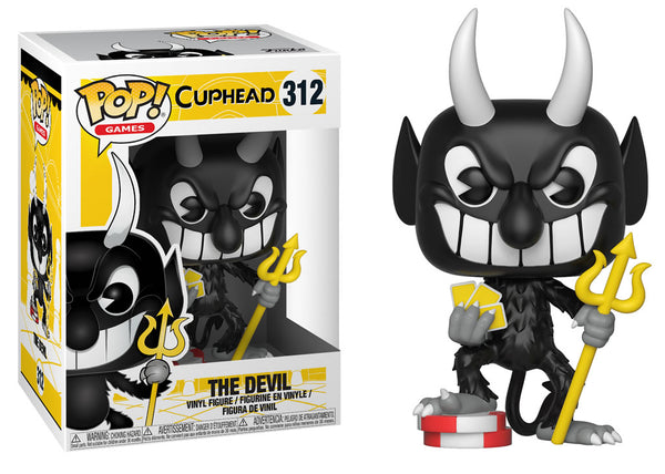 26966 - Funko Pop! Cuphead - The Devil Pop! Vinyl