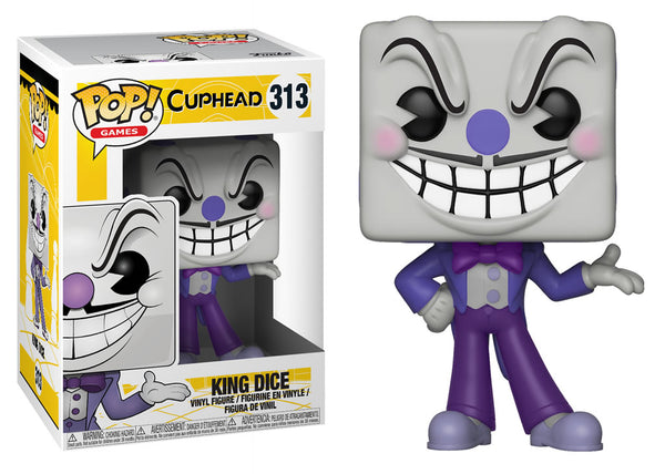 26968 - Funko Pop! Cuphead - King Dice Pop! Vinyl