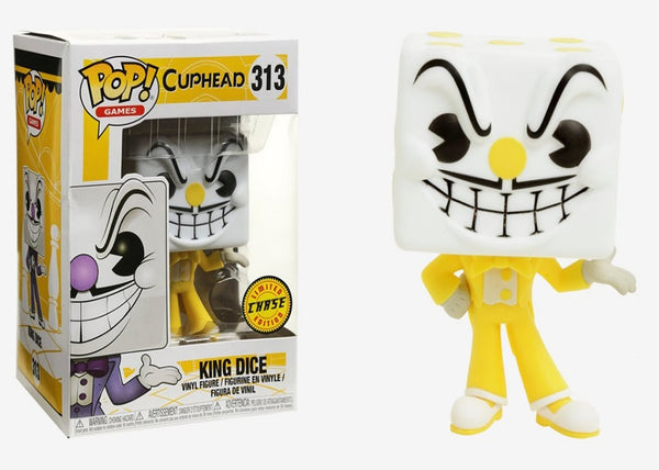 26968x - Funko Pop! Cuphead - King Dice CHASE Pop! Vinyl