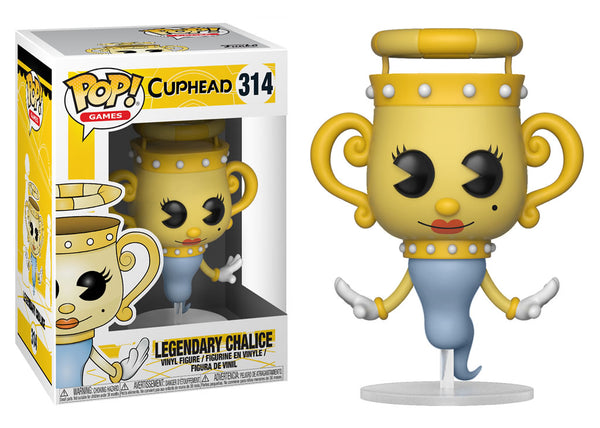 26969 - Funko Pop! Cuphead - Legendary Chalice Pop! Vinyl