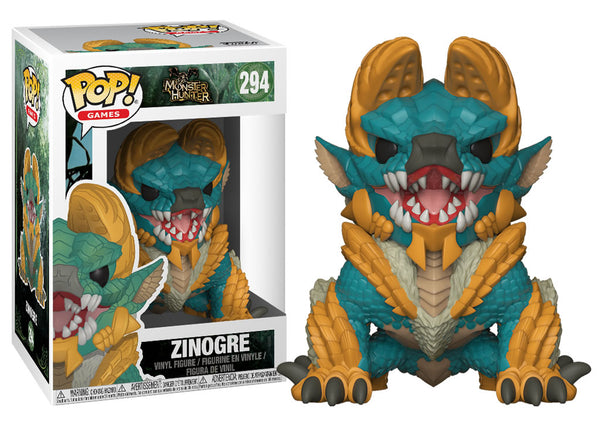 27341 - Funko Pop! Monster Hunter - Zinogre Pop! Vinyl