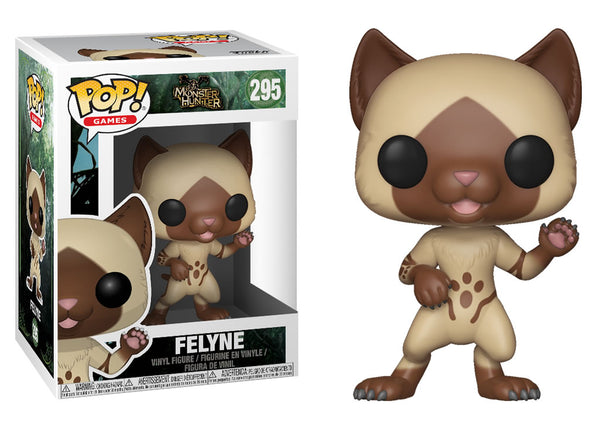 27343 - Funko Pop! Monster Hunter - Felyne Pop! Vinyl
