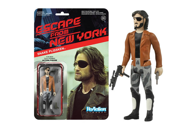 Escape From New York - Snake Plissken with Jacket Retro Action Figure