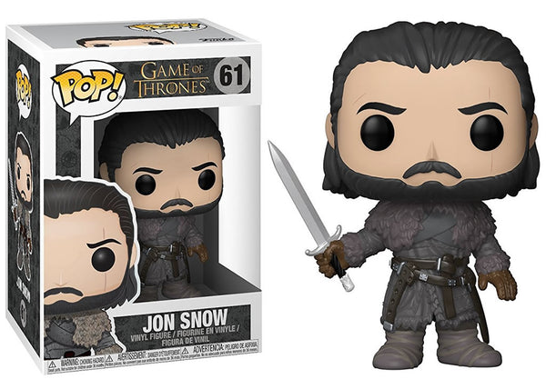 29166 - Funko Pop! Game of Thrones - Jon Snow Beyond the Wall Pop! Vinyl