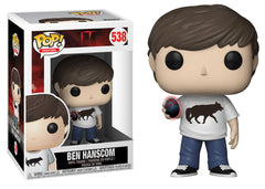 29522 - Funko Pop! IT Series 2 - Ben Hanscom Holding Burnt Easter Egg Pop! Vinyl