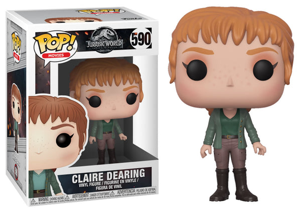 31443 - Funko Pop! Jurassic World Fallen Kingdom - Claire Pop! Vinyl