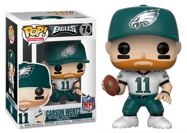 31727 - Funko Pop! NFL Series 5 - Carson Wentz (Philadelphia Eagles) Pop! Vinyl