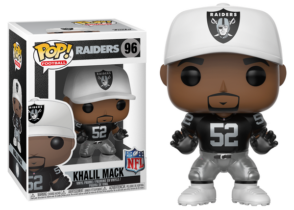 31729 - Funko Pop! NFL Series 5 - Khalil Mack (Oakland Raiders) Pop! Vinyl