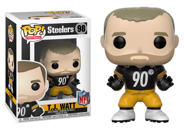 31752 - Funko Pop! NFL Series 5 - TJ Watt (Pittsburgh Steelers) Pop! Vinyl
