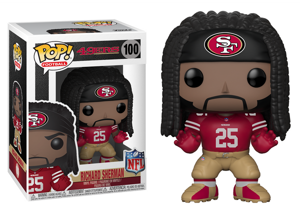 31760 - Funko Pop! NFL Series 5 - Richard Sherman (San Francisco 49ers) Pop! Vinyl