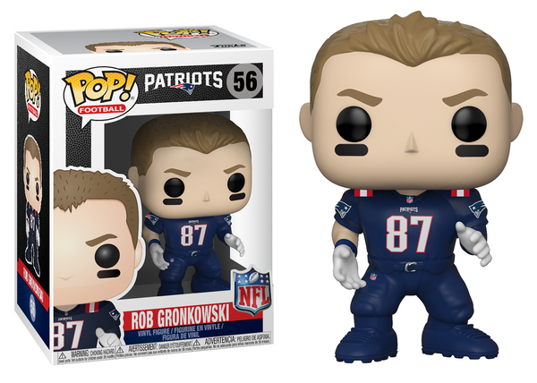 31772 - Funko Pop! NFL Series 5 - Rob Gronkowski (New England Patriots) Pop! Vinyl