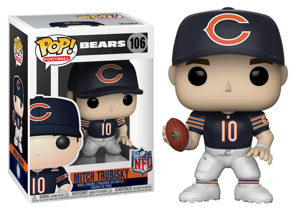 31776 - Funko Pop! NFL Series 5 - Mitch Trubisky (Chicago Bears) Pop! Vinyl