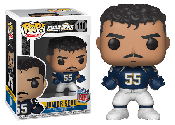 33295 - Funko Pop! NFL Legends - Junior Seau (San Diego Chargers) Pop! Vinyl