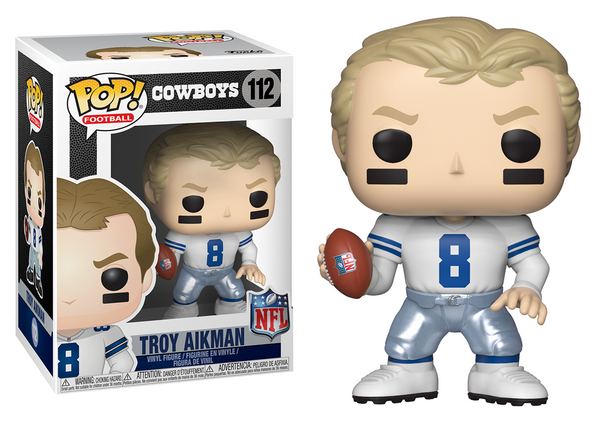 33298 - Funko Pop! NFL Legends - Troy Aikman (Dallas Cowboys) Pop! Vinyl