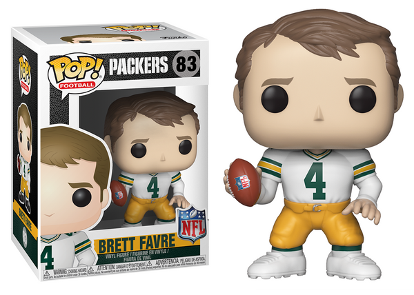 33299 - Funko Pop! NFL Legends - Brett Favre (Green Bay Packers) Pop! Vinyl