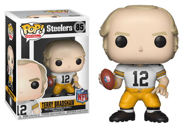33302 - Funko Pop! NFL Legends - Terry Bradshaw (Pittsburgh Steelers) Pop! Vinyl