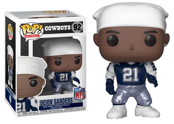 33304 - Funko Pop! NFL Legends - Deion Sanders Throwback (Dallas Cowboys) Pop! Vinyl