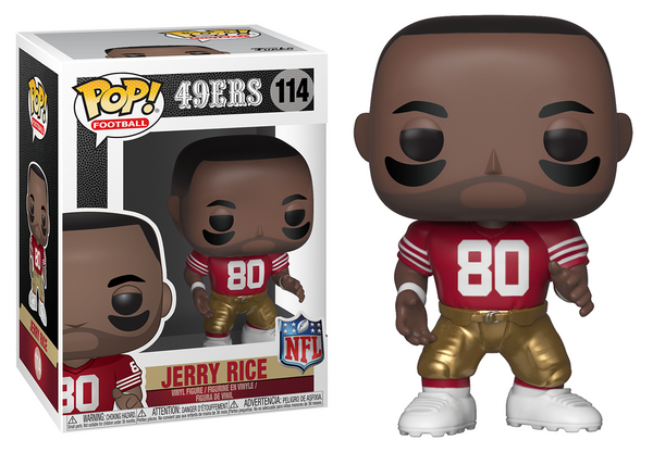 33307 - Funko Pop! NFL Legends - Jerry Rice (San Francisco 49ers) Pop! Vinyl