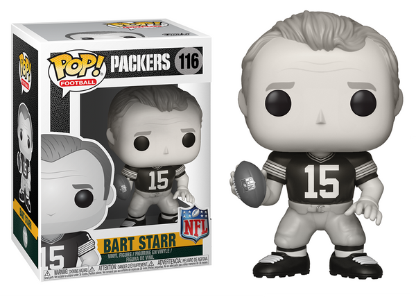 33400 - Funko Pop! NFL Legends - Bart Starr Black & White (Green Bay Packers) Pop! Vinyl