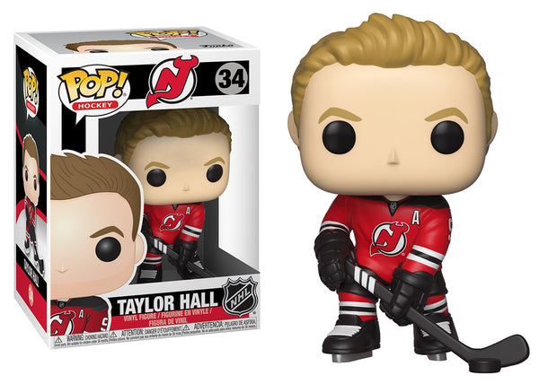 34321 - Funko Pop! NHL Series 3 - Taylor Hall (New Jersey Devils) Pop! Vinyl