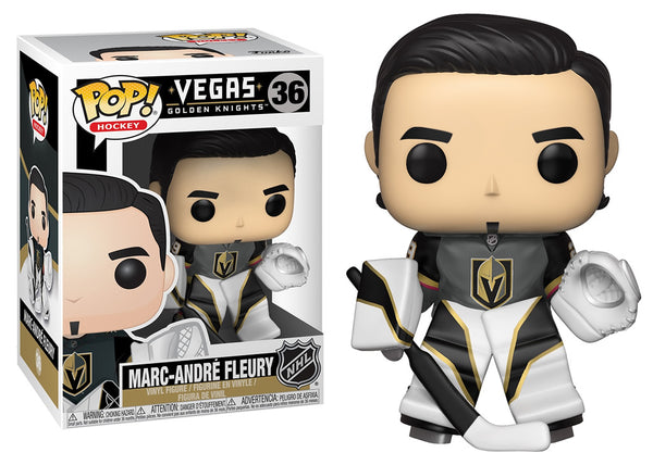 34325 - Funko Pop! NHL Series 3 - Marc Andre Fleury (Vegas Golden Knights) Pop! Vinyl