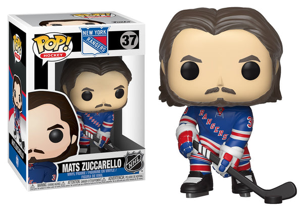 34329 - Funko Pop! NHL Series 3 - Mats Zuccarello (New York Rangers) Pop! Vinyl