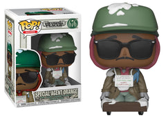34887 - Funko Pop! Trading Places - Special Agent Orange Pop! Vinyl