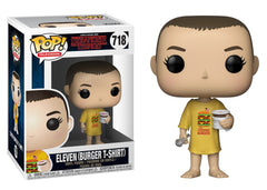 35057 - Funko Pop! Netflix Stranger Things - Eleven in Burger Tee Pop! Vinyl