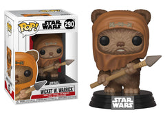 37525 - Funko Pop! Star Wars Return of the Jedi - Wicket W Warrick Pop! Vinyl