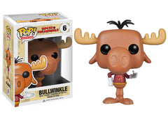 Rocky and Bullwinkle - Bullwinkle J Moose Pop! Vinyl
