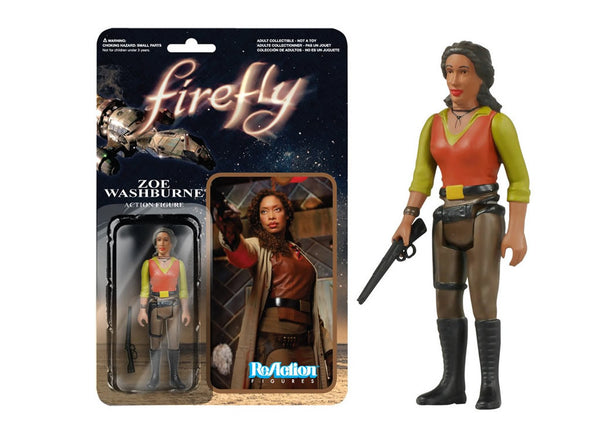 03858 - Funko Reaction Firefly - Zoe Washburne Retro Action Figure