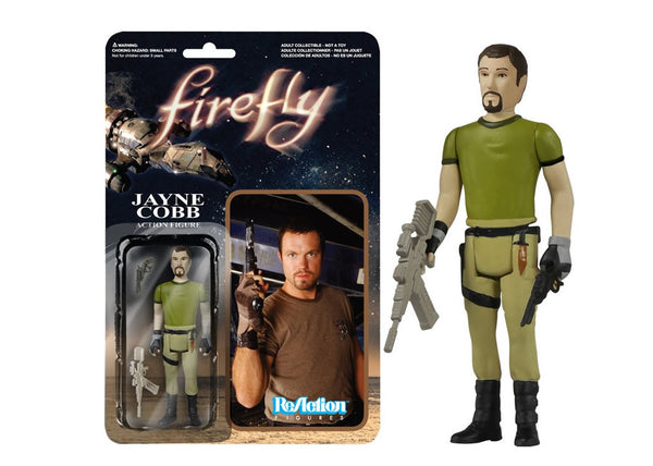 03860 - Funko Reaction Firefly - Jayne Cobb Retro Action Figure