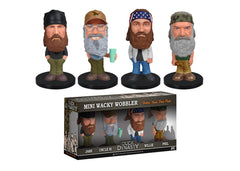 Duck Dynasty - Mini Wacky Wobbler Set