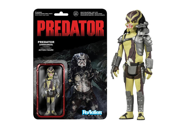 03938 - Funko Reaction Predator - Closed Mouth Predator Retro Action Figure