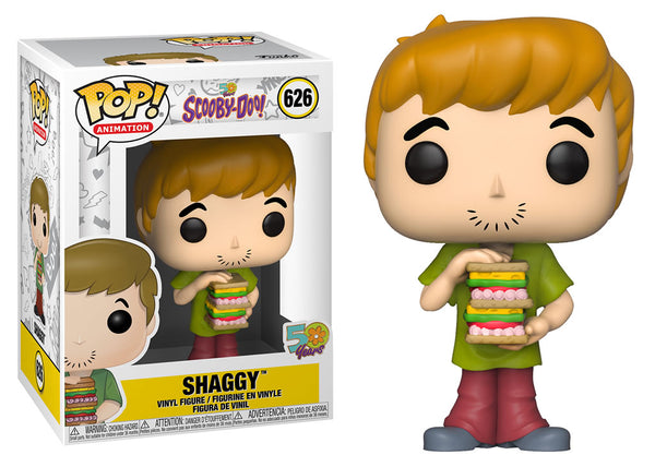 39949 - Funko Pop Scooby Do - Shaggy with Sandwich Pop! Vinyl