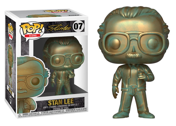 40744 - Funko Pop! Marvel - Patina Stan Lee Pop! Vinyl