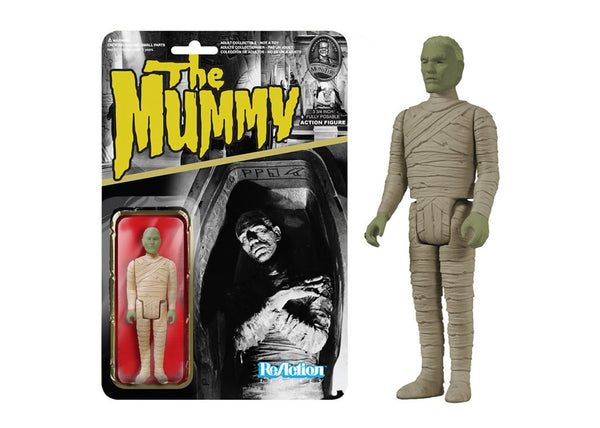 04089 - Funko Reaction Univeral Monsters - Mummy Retro Action Figure