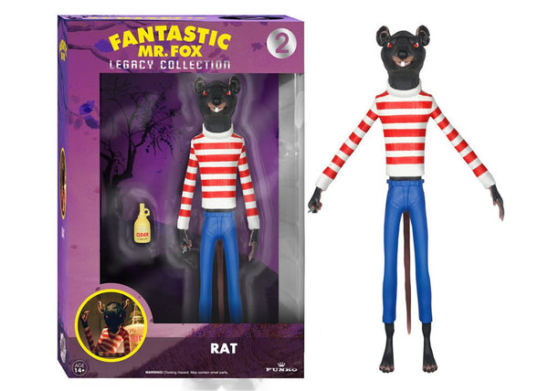 04117 - Funko Legacy Fantastic Mr Fox - Rat Legacy Action Figure