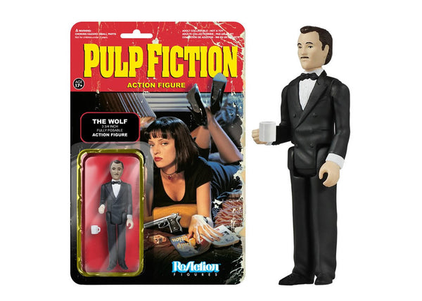 Pulp Fiction - The Wolf Retro Action Figure