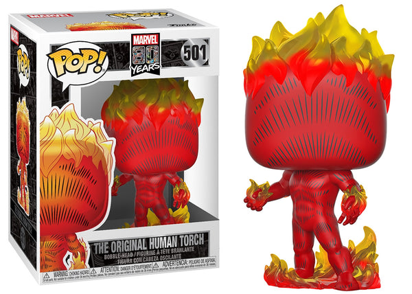 42653 - Funko Pop Marvel 80th Anniversary - First Appearance Human Torch Pop! Vinyl
