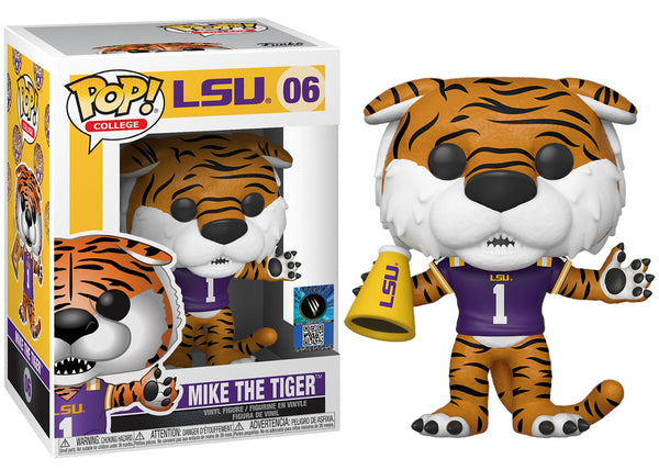 42860 - Funko Pop College Mascots - LSU Tigers Mike the Tiger Pop! Vinyl
