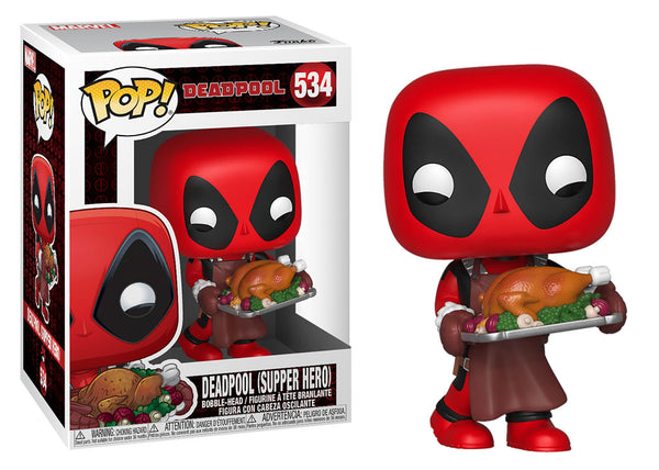 43337 - Funko Pop Marvel Holiday - Thanksgiving Deadpool Pop! Vinyl