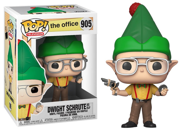 43429 - Funko Pop The Office - Dwight as an Elf Pop! Vinyl