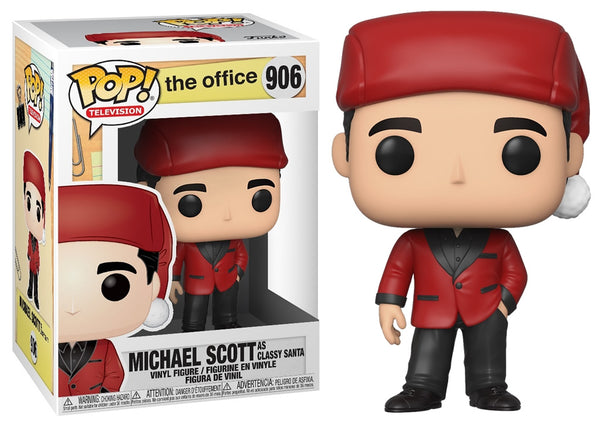 43430 - Funko Pop The Office - Michael as Classy Santa Pop! Vinyl