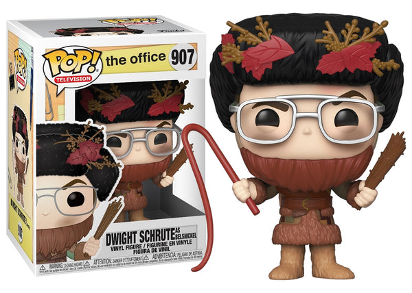 43431 - Funko Pop The Office - Dwight as Belsnickel Pop! Vinyl