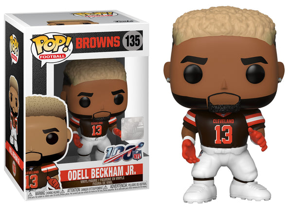43973 - Funko Pop NFL Series 6 - ODell Beckham Jr (Cleveland Browns) Pop! Vinyl