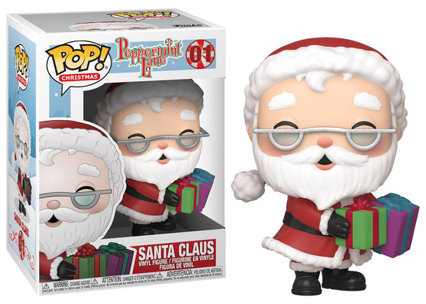 44418 - Funko Pop Peppermint Lane - Santa Claus Pop! Vinyl