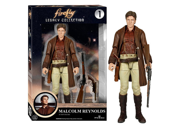 04788 - Funko Legacy Firefly - Malcolm Reynolds Legacy Action Figure