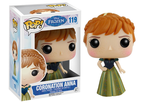 Disney Frozen - Coronation Anna Pop! Vinyl